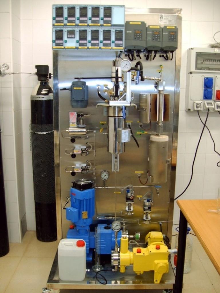 Instalación Oxidación Fenton (URJC)
