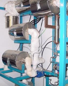 Instalación Oxidación húmeda supercrítica en continuo (UCM)