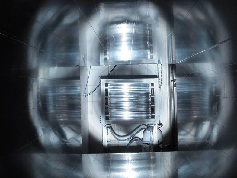 Simulador solar para procesos fotocatalíticos I